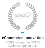 eCommerce innovation - ACEPI Navegantes XXI'12 Byside Sjpping Cart