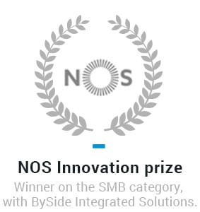 NOS Innovation prize - Winner on the SMB category with BySide Integrated Solutions